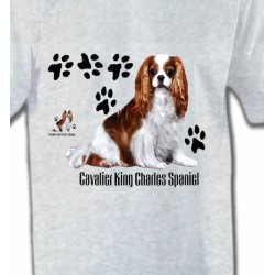 T-Shirts Races de chiens Cavalier King Charles (A)
