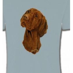 T-Shirts Braque Hongrois Tête de Braque Hongrois (V)