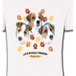 T-Shirts Jack Russell Terrier Jack Russell Terrier Chiots  (N)