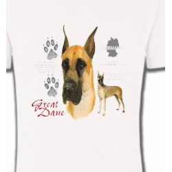 T-Shirts Dogue Allemand Dogue Allemand (D)