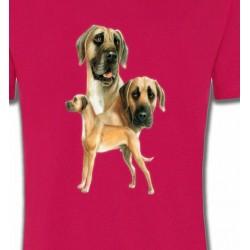 T-Shirts Dogue Allemand Dogue Allemand (B)