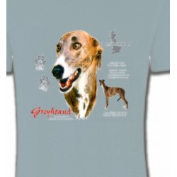 T-Shirts Greyhound Greyhound Lévrier  (N)