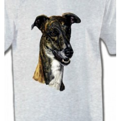 T-Shirts Greyhound Tête de Greyhound Lévrier(G)