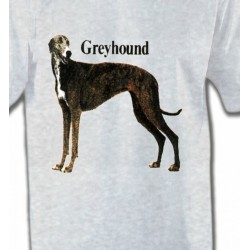 T-Shirts Greyhound Greyhound Lévrier (H)