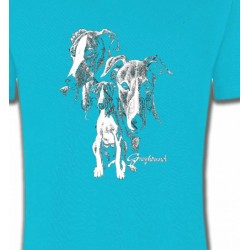 T-Shirts Greyhound Lévrier (E)