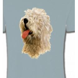 T-Shirts Bobtail berger anglais Tête de Bobtail Berger Anglais  (B)