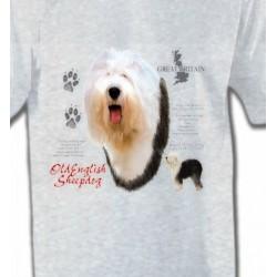 T-Shirts Bobtail berger anglais Bobtai Berger Anglaisl (C)