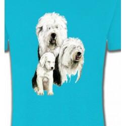 T-Shirts Bobtail berger anglais Famille Bobtail Berger Anglais (D)