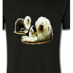 T-Shirts Bobtail berger anglais Famille Bobtail Berger Anglais (E)