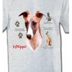 T-Shirts Lévrier Whippet Lévrier Whippet (B)
