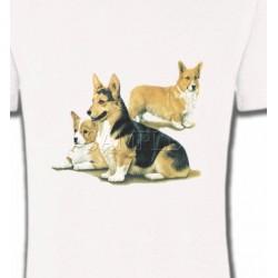 T-Shirts Welsh Corgi Famille Welsh Corgi (D)