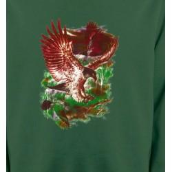 Sweatshirts Sweatshirts Unisexe Aigles en chasse