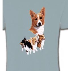 T-Shirts Welsh Corgi Famille Welsh Corgi (C)