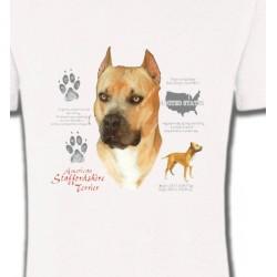 T-Shirts Staffordshire Bull terrier Staffordshire (C)