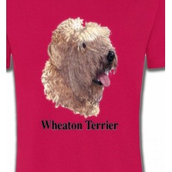T-Shirts Wheaten Wheaten Terrier (J)