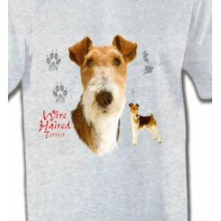 T-Shirts Fox Terrier Fox Terrier (B)