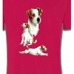 T-Shirts Fox Terrier Fox Terrier Chiot
