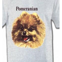 T-Shirts Spitz Poméranien Spitz Poméranien (B)