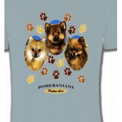 T-Shirts Spitz Poméranien Spitz Poméranien (D)