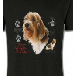 T-Shirts Basset hound Basset Hound Vendéen (G)