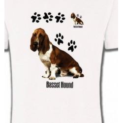 T-Shirts Basset hound Basset Hound (B)
