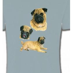 T-Shirts Carlin Pug Carlin Pug (A)