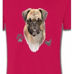 T-Shirts Carlin Pug Carlin Pug (E)