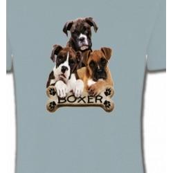 T-Shirts Boxer Trois Boxers (D)