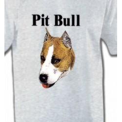 T-Shirts Bull Terrier Pit Bull (G)