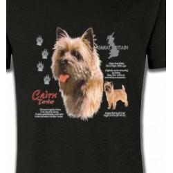T-Shirts Cairn Terrier Cairn Terrier (F)