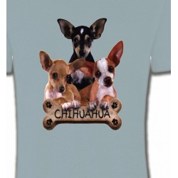 T-Shirts Chihuahua Chihuahua bébés (A)