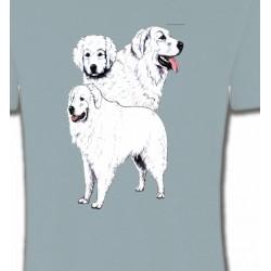 T-Shirts Kuvasz Kuvasz blanc (B)
