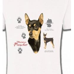 T-Shirts Pincher Nain Pincher (A)