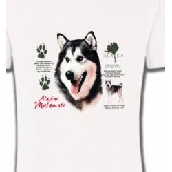 T-Shirts Chiens divers Alaskan malamute
