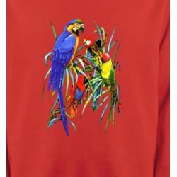 Sweatshirts Sweatshirts Unisexe Perroquets Ara dans un arbre (T)