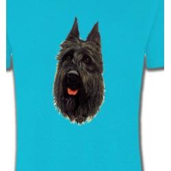 T-Shirts Bouvier des Flandres Bouvier des Flandres noir (A)