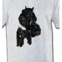 T-Shirts Bouvier des Flandres Bouvier des Flandres noir (C)
