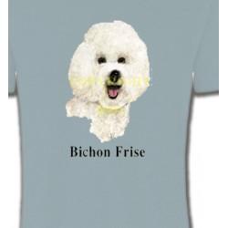 T-Shirts Bichon Frisé Bichon Frisé (K)