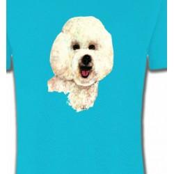 T-Shirts Bichon Frisé Bichon frisé (B)