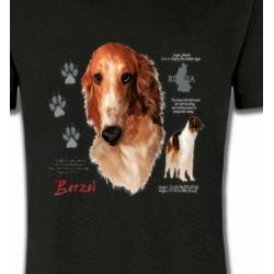 T-Shirts Borzoi Borzoi (C)
