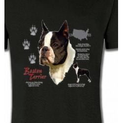 T-Shirts Boston Terrier Boston Terrier (A)