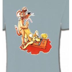T-Shirts Humour/amour souris clapet humour piège à souris   (C2)