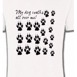 T-Shirts Humour/amour Pattes de chien humour