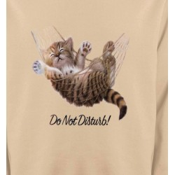 Sweatshirts Humour/amour Chaton dans un hamac Do not disturb