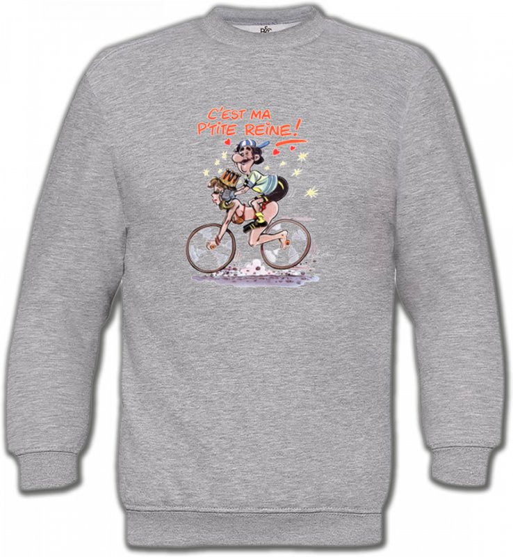 Sweatshirts UnisexeHumour/amourHumour cycliste (V)