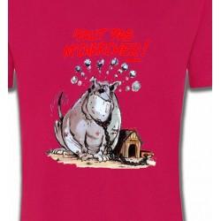 T-Shirts Humour/amour Humour chien (A) faut pas m'chercher