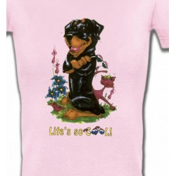 T-Shirts Humour/amour Rottweiler Cool (O)