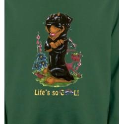 Sweatshirts Humour/amour Rottweiler Cool (O)
