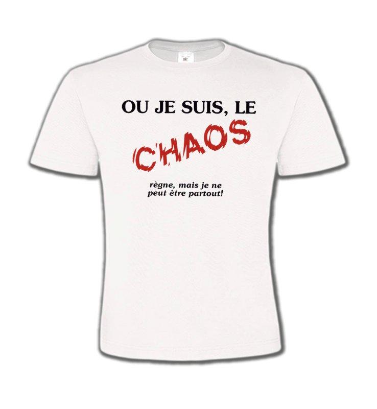 T-Shirts Col Rond EnfantsHumour/amourHumour (N2)