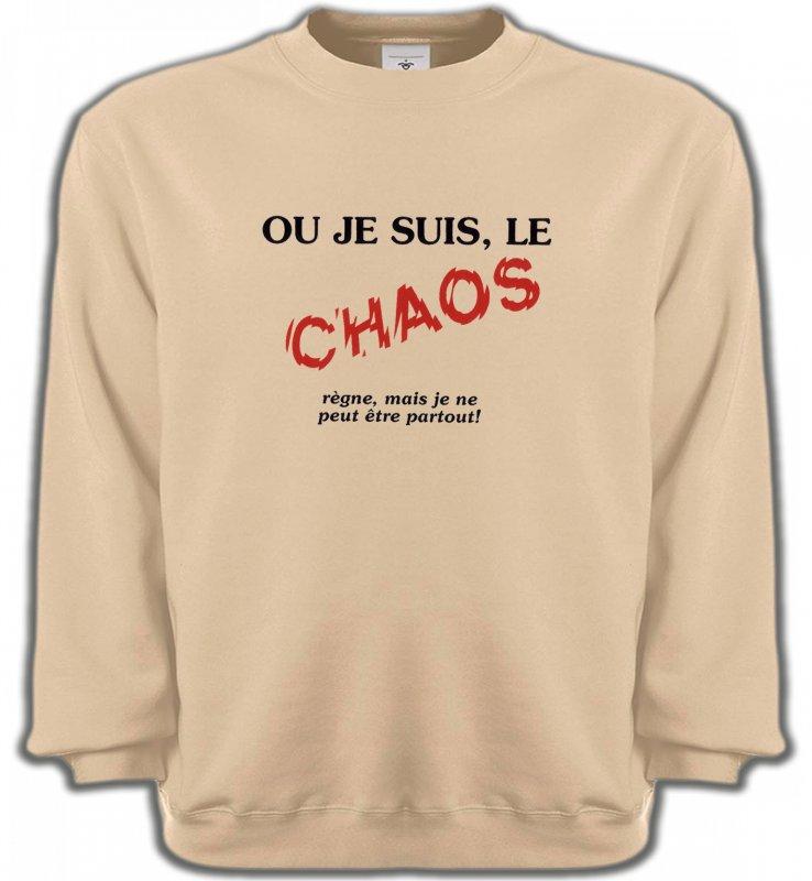 Sweatshirts UnisexeHumour/amourHumour (N2)
